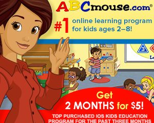 ABCMouse.com 2 Months for $5