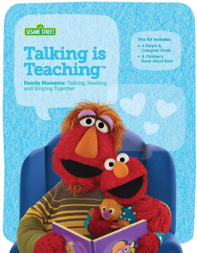Sesame Street's Talking is Teaching