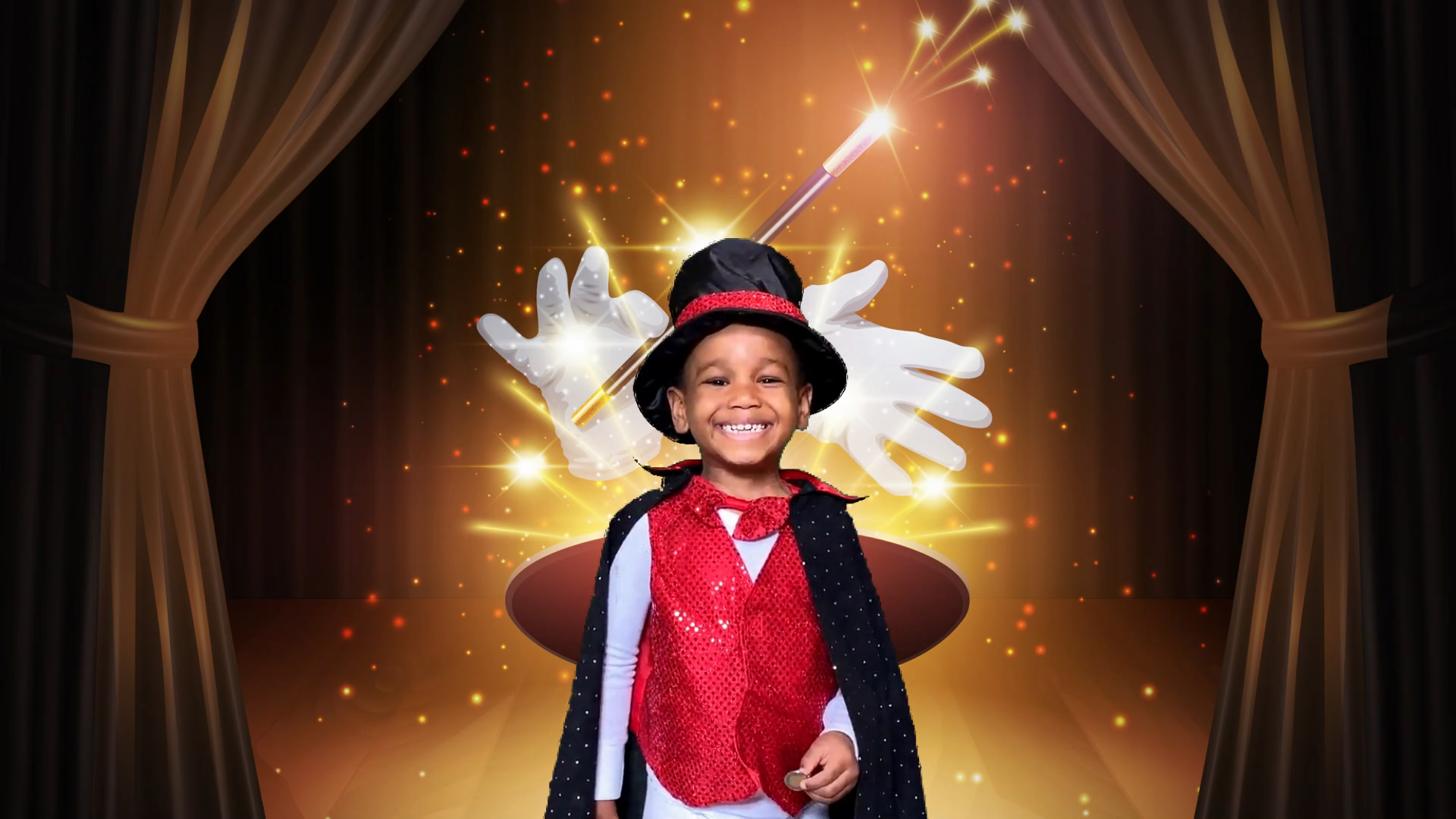magician kid